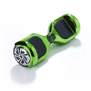 6.5inch Hoverboard – Chrome – Green